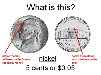Money - US Coins - Teaching With PowerPoint