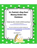 Money Under the Rainbow - St. Patrick's Day Activities