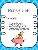 No Prep K-2 Money Unit - Flipbook and Centers