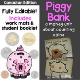 Canadian Coins Money Unit {EDITABLE}