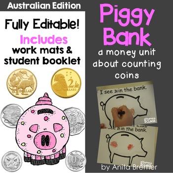 Australian Coins Money Unit {EDITABLE}