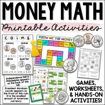 Money, Counting Coins, and Making Change