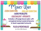 Money Unit 2nd Grade