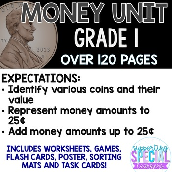 Money Unit (American Currency) - Grade 1