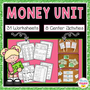 Money Unit (First-Second Grade Math)