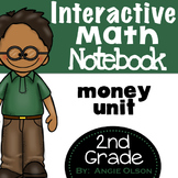 Money Second Grade Math Notebook