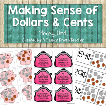 Money Unit: Making Sense of Dollars and Cents