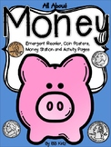Money Unit for Kindergarten {Reader, Station, Posters and
