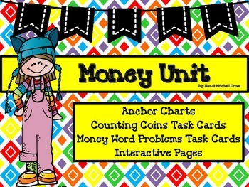 Money Unit with Task Cards
