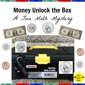 Money Unlock the Box: A Fun Math Mystery