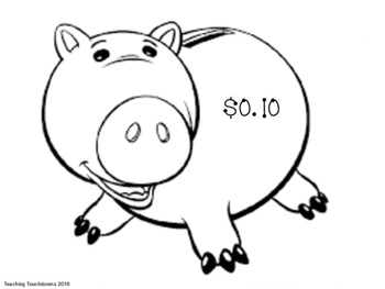 Money Value Piggy Banks
