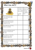 Money - Valuing and Ordering Coins Assessment Task