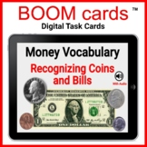 Money Vocabulary Recognizing Coins and Bills with Audio and Real Photographs