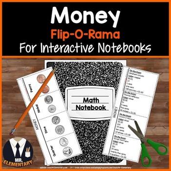 Money Vocabulary Interactive Notebook