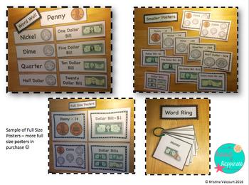 Money Vocabulary Visuals!