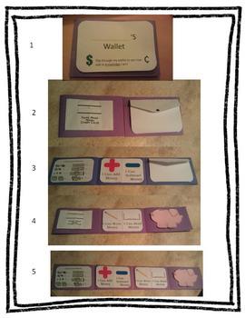 Money Wallet: Money Unit Cumulative Craftivity