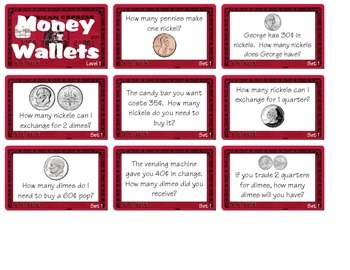 Money Wallets - Level 1 (2.MD.C8)