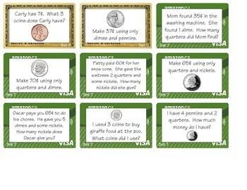 Money Wallets - Level 2 (2.MD.C8)