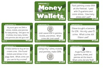 Money Wallets - Level 3 (2.MD.C8)