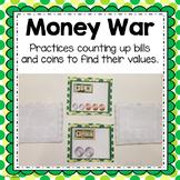 Money War Bills and Coins