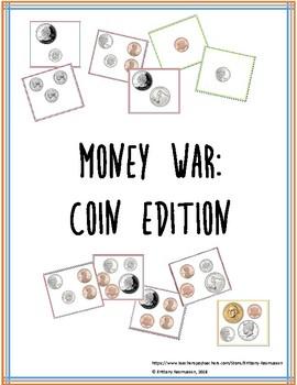 Money War Card Deck