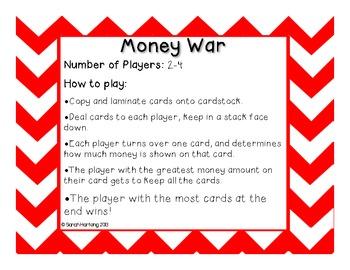 Money War {FREEBIE}