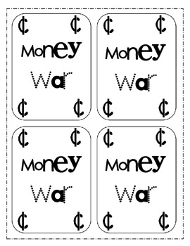 Money War-Great Math Center Game!