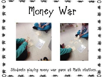 Money War Math Game