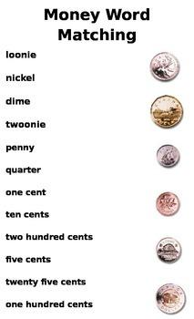 Money Word Matching