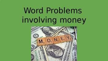 Money Word Porblems