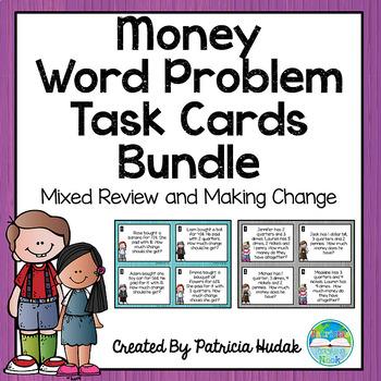 Money Word Problem Bundle