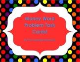 Money Word Problem Task Cards!