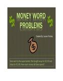 Money Word Problems