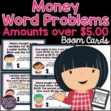 Money Word Problems Boom Cards (Amounts over $5)