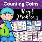 Money Word Problems - Financial Literacy