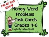 Money Word Problems Grades 4-6