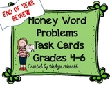 Money Word Problems Grades 4-6