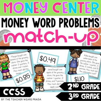 Money Word Problems Matching Activity {2nd and 3rd Grade}