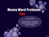 Money Word Problems Power Point MCC.2.MD.8