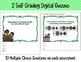 Money Word Problems Self-Grading Digital Assessments: Coins