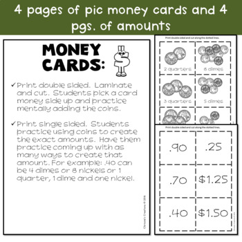 Money Word Problems and more