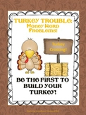 Money Word Problems in Turkey Trouble