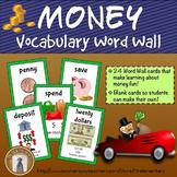 Money Vocabulary Word Wall