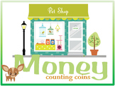 Money Work Sheets and Printable Activities - Counting Coins
