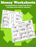 Money Worksheet Set