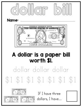 Money Worksheets - Counting Sorting and Identification