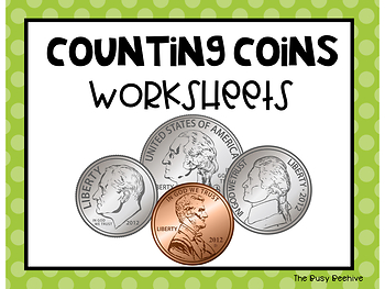 Money Worksheets - Growing Bundle