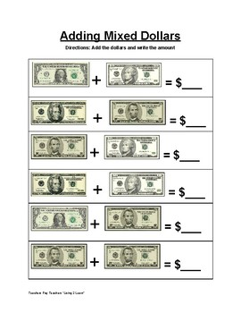 money worksheets life skills 20 differentiated counting. Black Bedroom Furniture Sets. Home Design Ideas