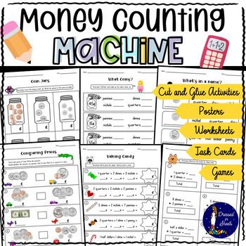 Money Worksheets & Task Cards