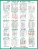 Money and Banking 20 Spanish Worksheet Bundle